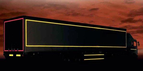 Cintas reflectantes truckpasión