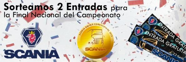 Sorteo 2 entradas Campeonato Nacional Scania