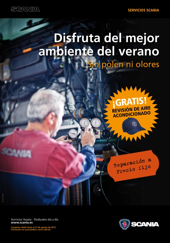 Campaña verano Scania 2012