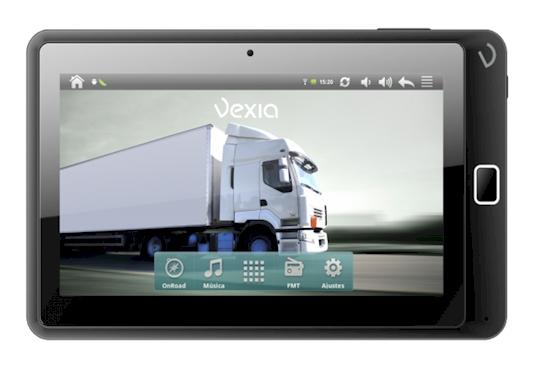Navegador GPS Vexia Tablet Navlet