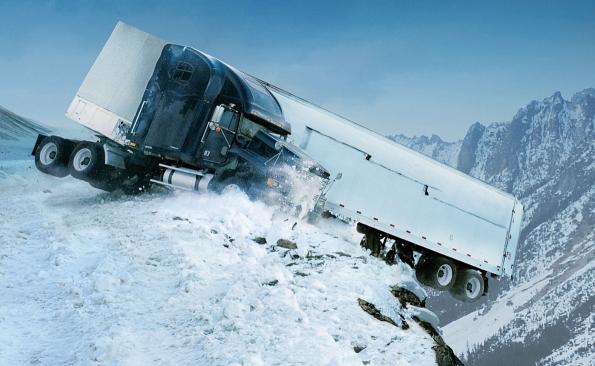 Consejos conducción camiones en nieve