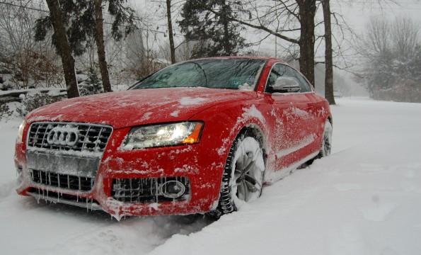 conducción en nieve