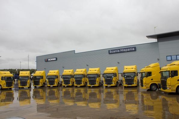 Transportes Cerezuela Scania