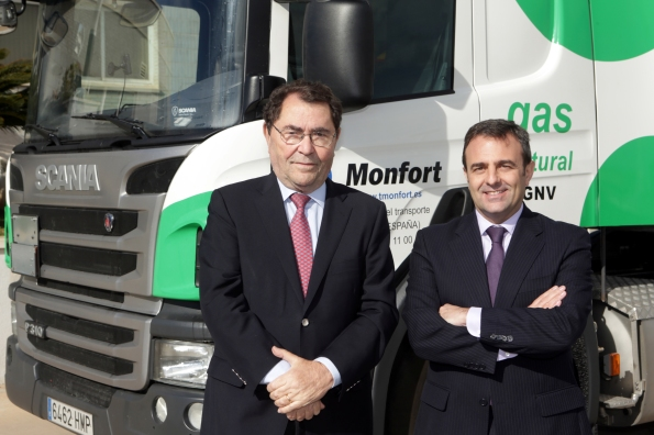 Scania Gas Monfort