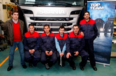 Top Team Scania