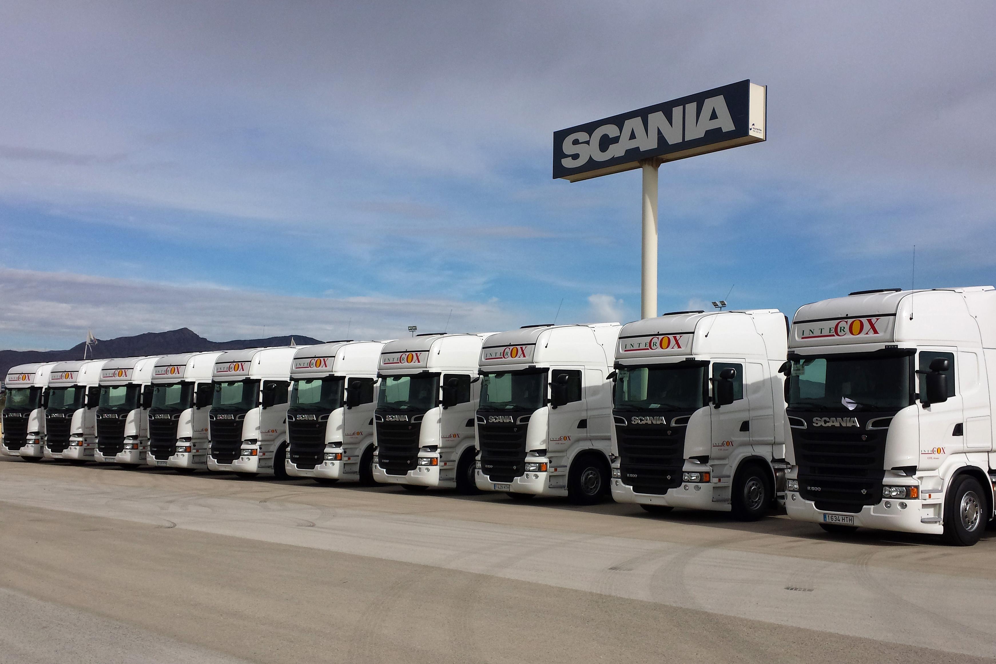 Intercox vuelve a apostar por scania truckpasi n for Empresas de transporte en tenerife